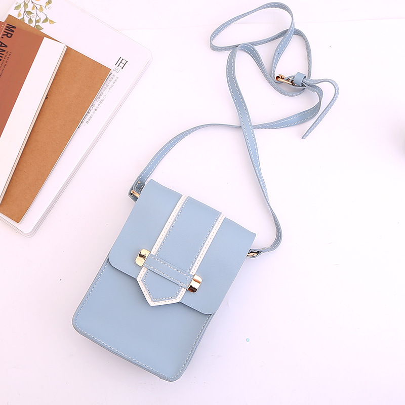 Miyahouse Fresh Style Women Small Flap Bags Candy Color Mobile Phone Bag Female Mini Shoulder Bag Korean Girls Messenger Bags все цены