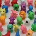 Mini Action Figures Toys 20pcs/lot Cute Pocket Monster Figures Model Stickers Toys Kids Sucker Suction Cup Capsule Doll