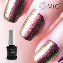 MRO China uv color gel nail polish is a chameleon gel lucky set of nail glue gel polish a chameleon professional change color