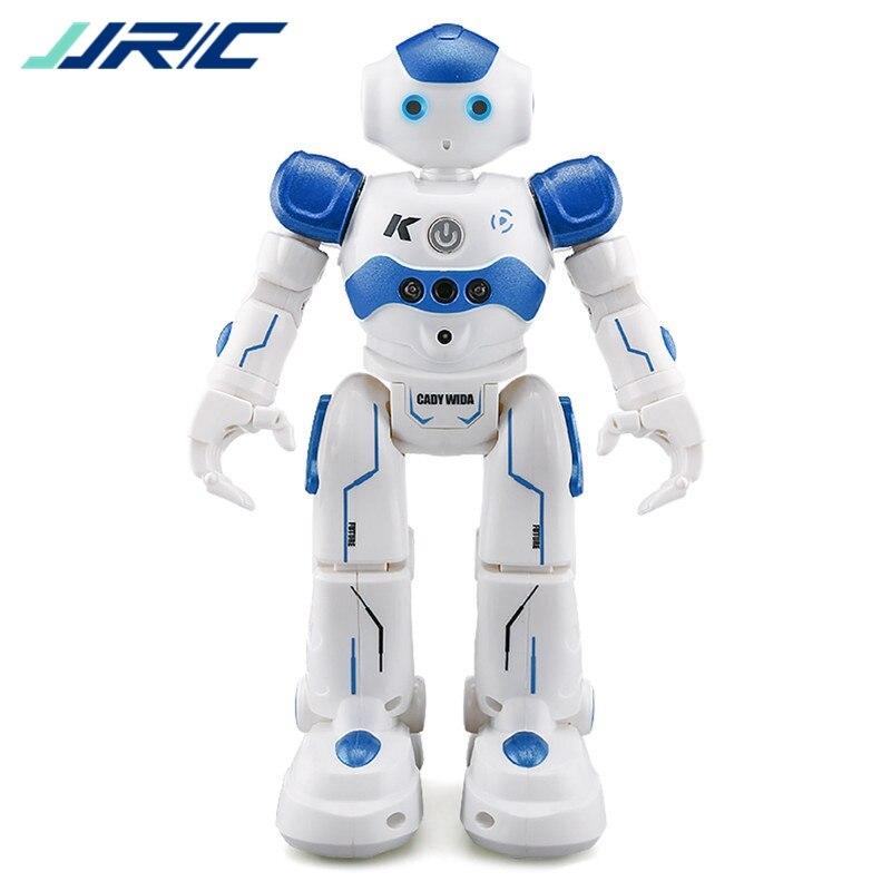 Auf Lager! JJR/C JJRC R2 USB Lade Tanzen Gestensteuerung RC Roboter Spielzeug Blau Rosa für Kinder Kinder Geburtstagsgeschenk präsentieren
