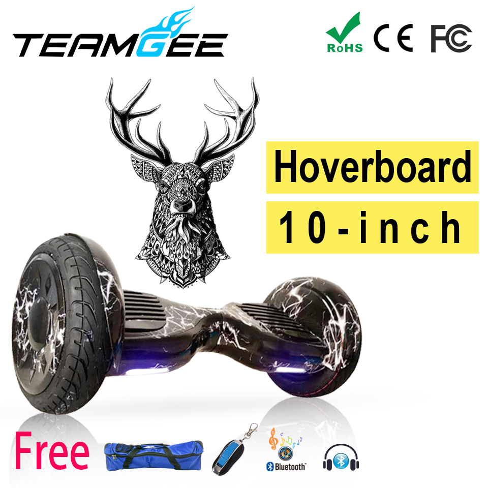 где купить  Hoverbaord Hoverboard 10 Smart Balans Electric Scooter Skateboard Kick Scooter Electric Russia Stock  Speedway Adults Tricycle  по лучшей цене
