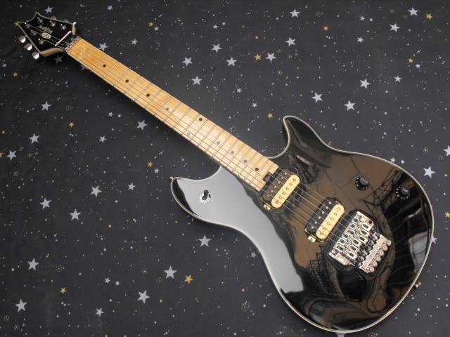 evh guitar wolfgang 5150 electric guitar black gloss mahogany body maple fretboard zebra pickup. Black Bedroom Furniture Sets. Home Design Ideas