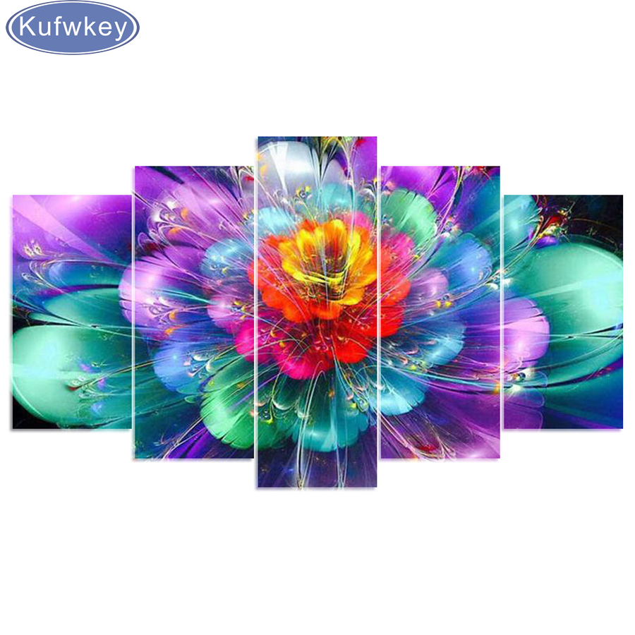 5d diy Diamond embroidery 5d diy diamond painting orchidee 3d Cross Stitch full Rhinestone mosaic Multi-picture home decoration