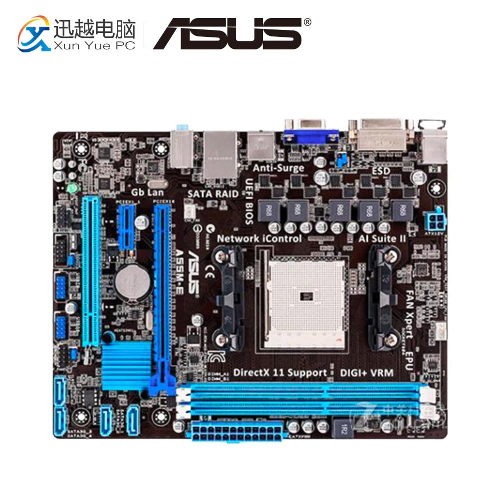 все цены на Asus A55M-E Desktop Motherboard A55M-E A55M Socket AMD A55 Socket FM2 DDR3 USB2.0 ATX онлайн