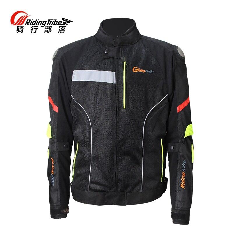 Hommes de Moto Titane Vestes Locomotive Baisse Maille 4 Saisons Racing Moto protection Vestes 7 Vitesse protecteurs Vêtements