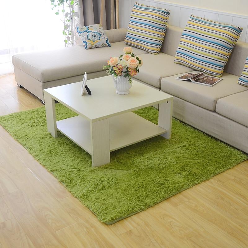 60*160CM modern living room rugs Silky/soft/non slip Free ...