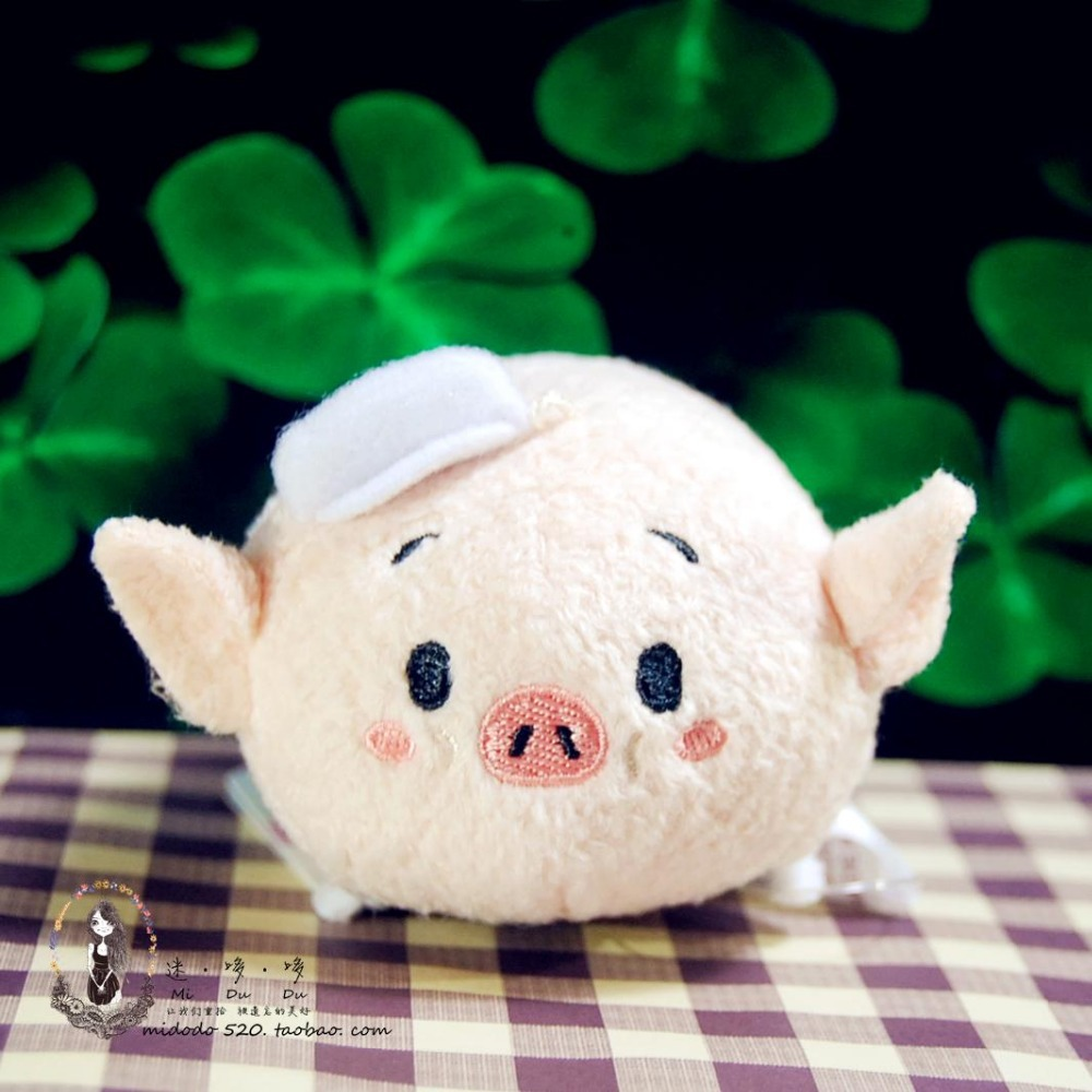 Tsum Plush Three Little Pigs And Big Wolf Soft Toys Cute Smartphone Cleaner Kids Gifts Christmas Gift In Dolls From Hobbies On Aliexpress