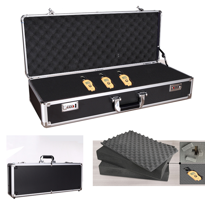 700x270x150mm Toolbox Aluminum Tool Box Impact Resistant Safety Case Equipment Camera Storage Suitcase with Pre cut