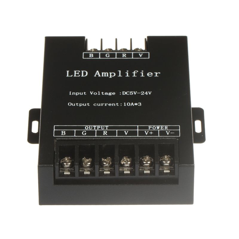 Rgb Controlers Shop For Cheap 1pcs Mini Rgb Led Amplifier Controller Common Anode For Smd 5050 Led Strip Lighting Dc24v Making Things Convenient For Customers