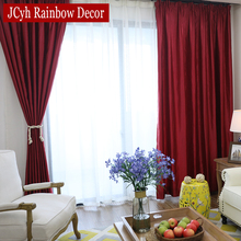 Window Blackout Curtains For Living Room The Bedroom Modern Kitchen Curtain Fabric Draps Blinds