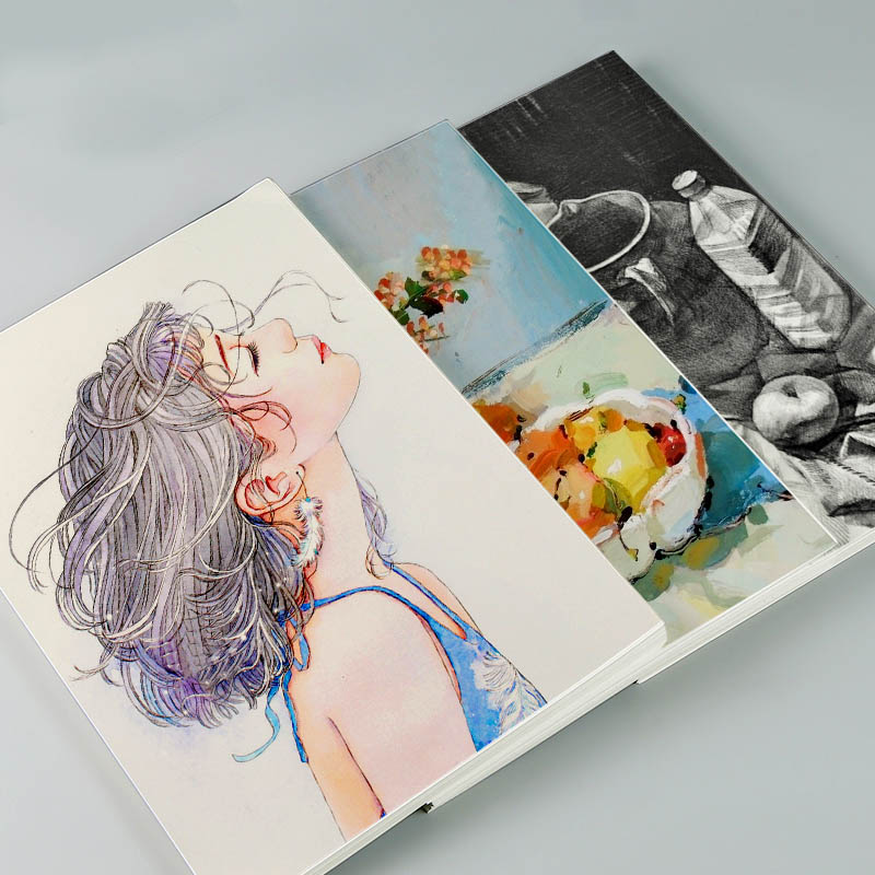 BGLN watercolor paper 4k8k color lead painting special paper student children art drawing paper graffiti paper art supplies