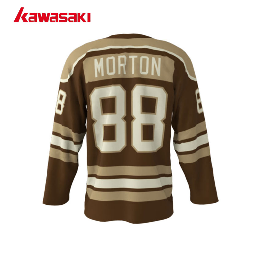 Kawasaki Brand V neck With Rope Ice Hockey Jersey Youth Mens 88  XS 4XL  Plus Size Custom Practice Sports Hockey Jersey-in Hockey Jerseys from  Sports ... 676f17d9d
