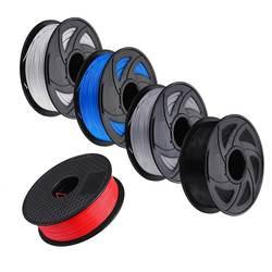 YENI PLA 1.75mm Filament 1 KG Baskı Malzemeleri Için Renkli 3D Yazıcı Ekstruder Kalem Gökkuşağı plastik aksesuarlar
