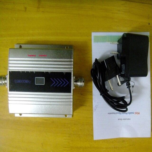 Mini GSM 900 MHZ sinal de telefone celular com display lcd! Gsm repetidor de sinal, Gsm sinal amplificador com adaptador