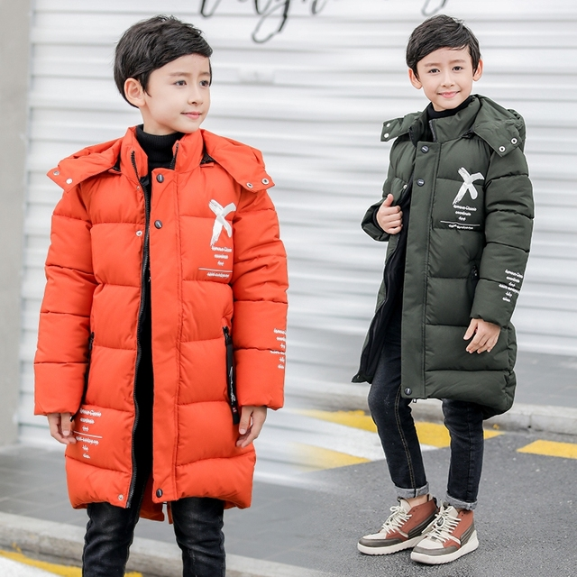 b59ee2f62a29 boys winter Coat hooded 6 13 years old kids down children s parkas ...