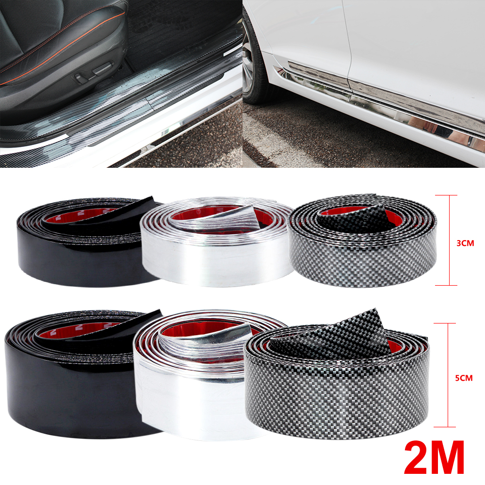 Silver 8.5mm x 8M Plating Trim Strip Wheel Protection Decoration Sticker Ch A