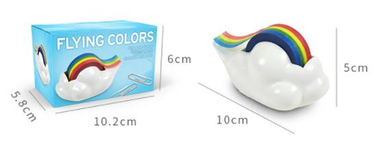Cortador de fita Criativo estudante Coreano rainbow