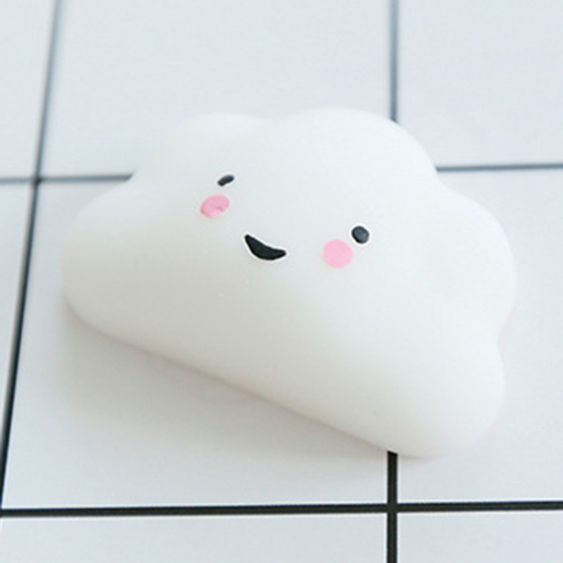 Slow Rising Kawaii Mini Animal Dumpling Clouds Soft Squeeze Fun Kid Toy Gift Stress Reliever Decor Mobile Phone Straps For Child