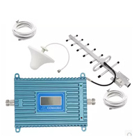 LCD Display Function CDMA 850Mhz Booster W 20M Cable Ceiling Antennas 850Mhz CDMA Repeater Signal Amplifier