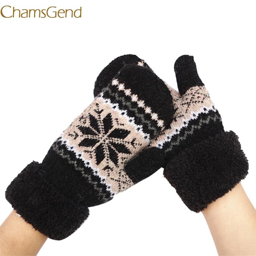 Chamsgend Newly Design 95% Wool 5% Cotton Thicken Warm s