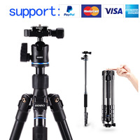 Benro IT15 IT25 Aluminum Travel Tripod Kit with Head lightweighr tripod
