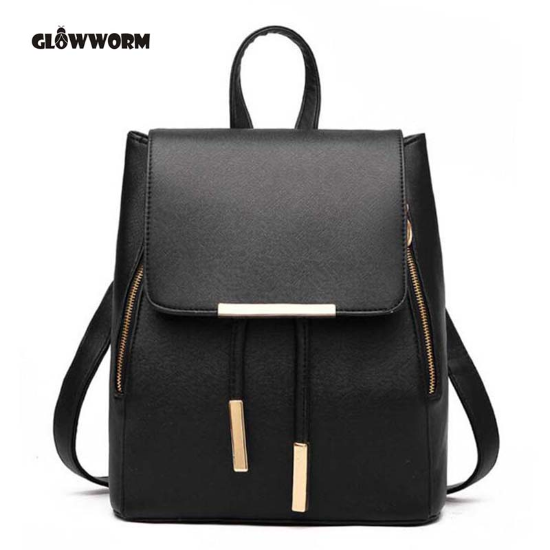 Women Backpack High Quality PU Leather Mochila Escolar School Bags For Teenagers Girls Top-handle Backpacks Herald Fashion CX389 luxury brand backpacks women leather school bag for teenage girls casual top handle backpack fashion mochila escolar female new