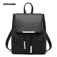 Women backpack high quality pu leather mochila escolar school bags for teenagers girls top handle backpacks.jpg 200x200