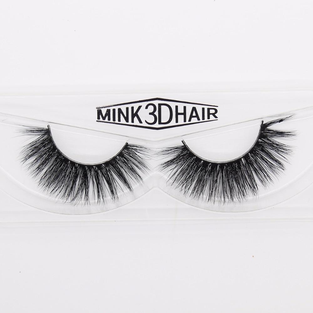 77a6cd8f69c Ptcharming Handmade 100% 3D Real Siberian Mink False Eyelash Individual  Eyelashes Extension Faux Lashes PTAME A06-in False Eyelashes from Beauty &  Health on ...