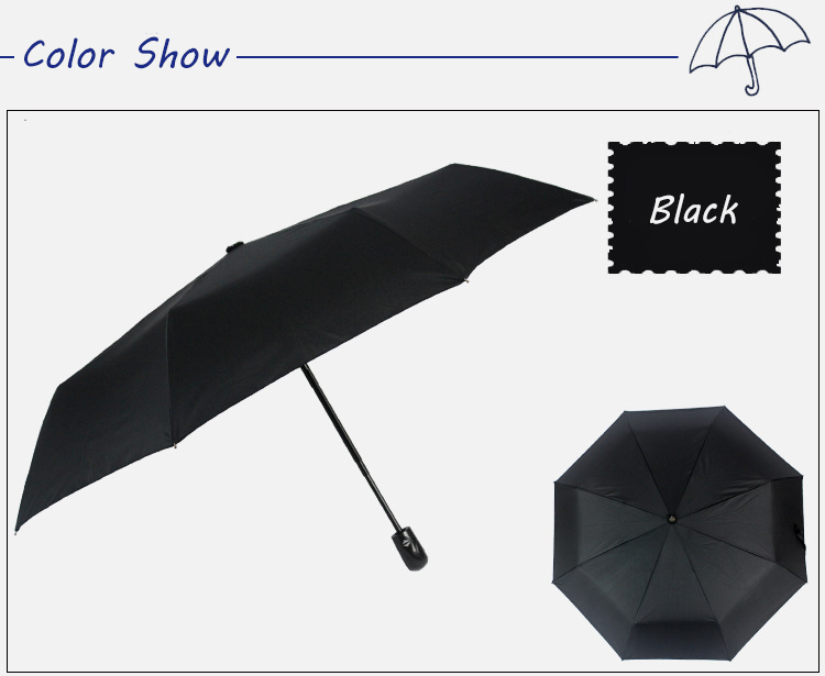 Wind Resistant Folding Automatic Umbrella Rain Women Male Auto Luxury Big  Windproof Umbrellas For Men Rain Black Coating Parasol - us84 e00d5ca95e
