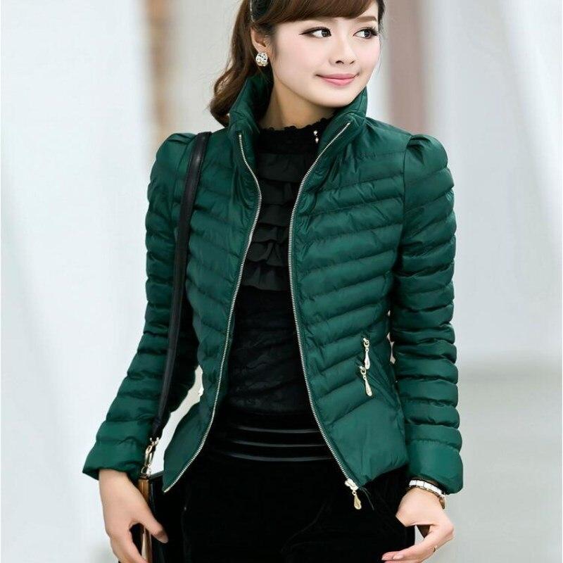 L-XXXL Kore İnce ince moda rahat ceket kış ceket kadınlar kısa paragraf 2016 yeni uzun kollu ceket ceket MA010