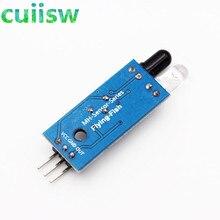10 шт. ИК инфракрасное препятствие датчик избегания отражение фотоэлектрический модуль для arduino отражающий фотоэлектрический