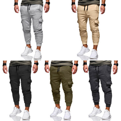 Pants Fitness Gym Trousers Running Joggers Gym Tracksuit Casual Sportwear