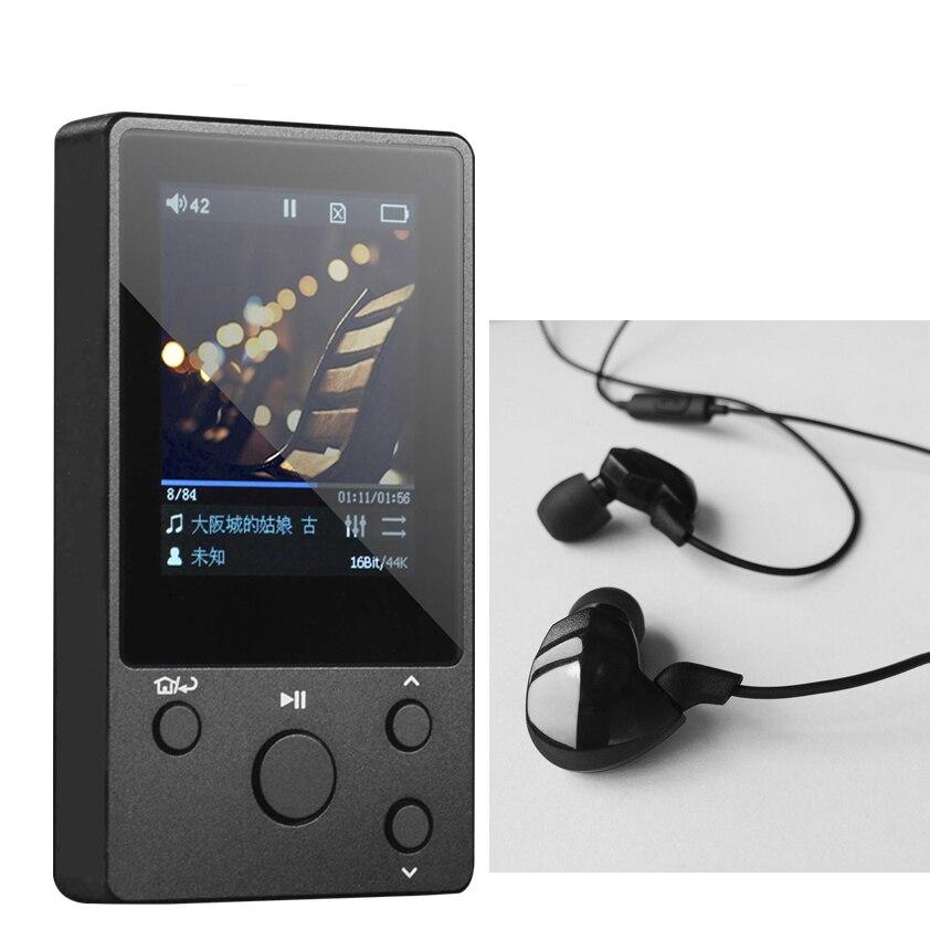 + Hidiz Ep3 Kopfhörer Modestil Xduoo Nano D3 Professionelle Verlustfreie Musik Mp3 Hifi Musik Player Ips Display 24bit/192 Karat Dsd256 Eingebaute 8 Gb