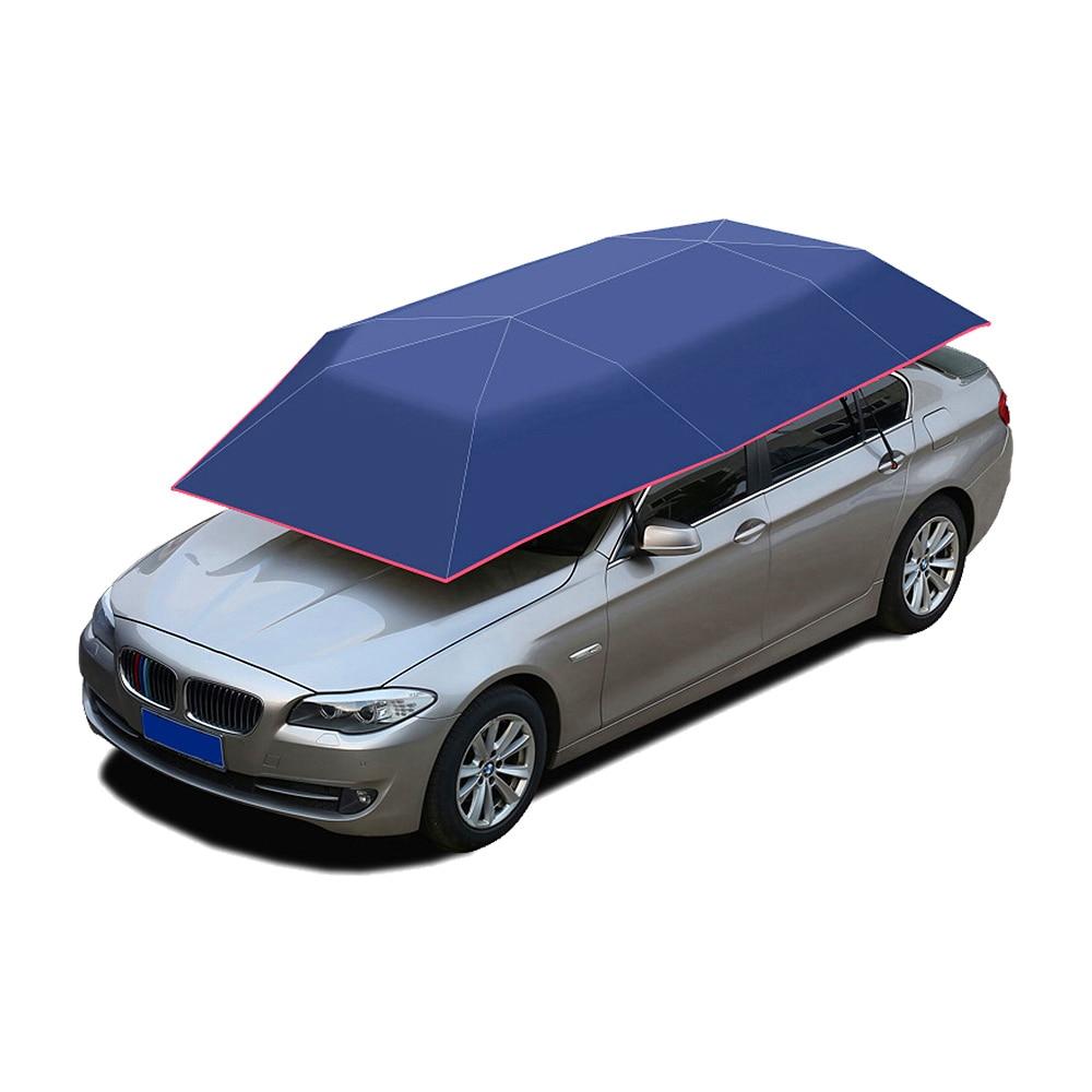 Car Umbrella Oxford Cloth 400*210cm Three Colors Travel Roof Automatic Umbrella Car Umbrella Cover Accesories umbrella