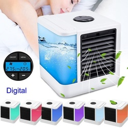 Personal Evaporative Air Cooler and Humidifier Portable Air Conditioner mini fans Air Conditioner Device cool