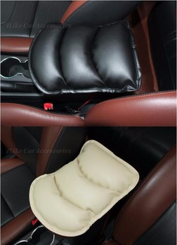 Car-Styling Armrests Cover Vehicle Center Console Arm Rest Seat Pad For Subaru Forester XT XV US-Version Legacy Trezia Levorg image
