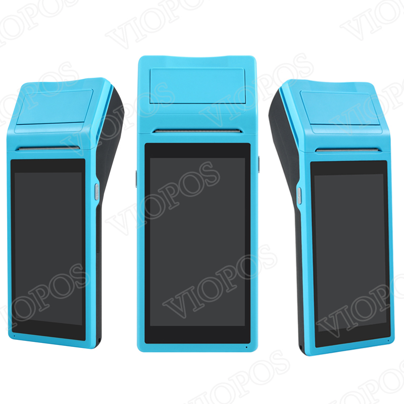 V1 POS Terminal PDA With Wireless Bluetooth& Wifi Android System with Thermal Printer Built in and Scan Barcode by Camera