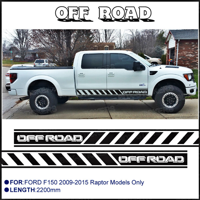 Customize For Ford Ford F150 Raptor 2009 To 2015 Car Modified Decals