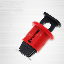 10PCS Electrical Lockout Miniature Circuit Breaker Lock Air Switch Breaker Lockout for Power Isolation Pinout Lockout JF1751 lockout safety supply ball valve lockout 1 5 2 5 diameter red