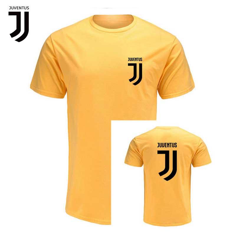 3525e2715 JUVENTUS 2019 Juve Football Match Serie A Team Men Cotton T shirt Zebra  Legion Fans Male Short sleeved Shirt Men s Sweatshirt-in Soccer Jerseys  from Sports ...
