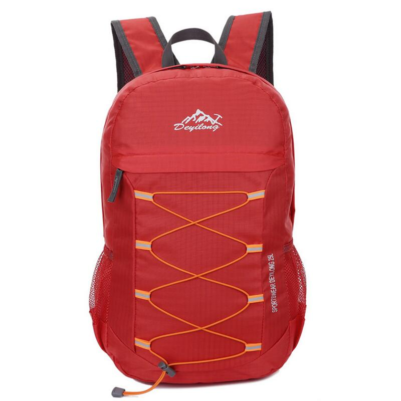 Ultralight Portable Hiking Backpack Outdoor Travel Bag Folding Waterproof Mountaineering Sport Bag Camping Backpacks ultralight aluminium alloy camping mats folding bed portable hiking bbq bed outdoor new brand p20