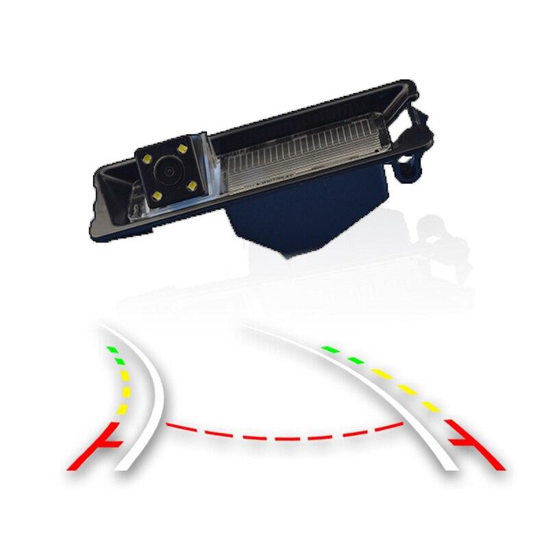 Weivision inteligente trayectoria dinámica Tracks vehículos cámara de visión trasera para Nissan March Renault Logan Renault Sandero W