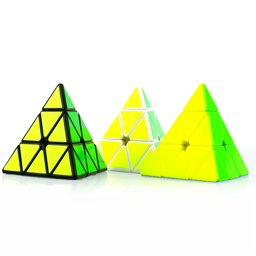 Piramide Pyraminx Cubo Magico Velocidad Speed Cube Hand Spinner Fidget Twist Gifts Mini Pyramid Magic Cube Pyraminx 502509 5x5x5 classic speed magic cube puzzle game cubes hand spinner fidget toys children gifts 5x5 mini anti stress cubo magico 601653