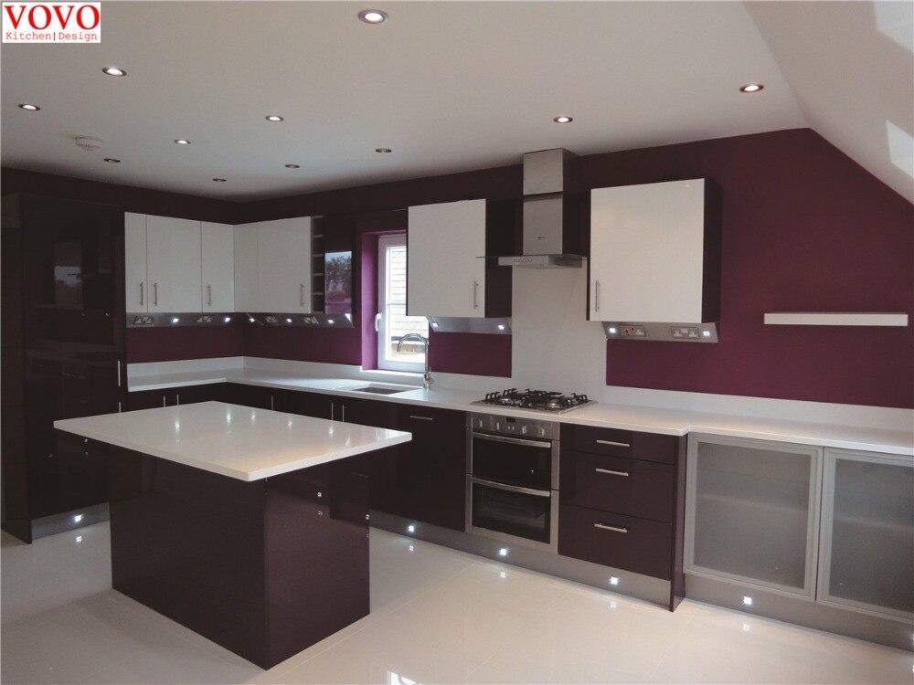 Estilo europeo gabinete de cocina de dise o moderno en for Estilos de gabinetes de cocina modernos