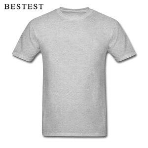 Jednokolorowa koszulka dla mężczyzny 2018 kobiet topy 100% bawełna Team Tees niestandardowa koszulka tanie letnie ubrania niebieska czerwona koszulka hurtowa