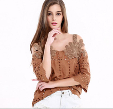 Summer Vintage Sexy Stereoscopic Decorative Hollow Out Off the Shoulder Strap Tops Fashion Strapless Tanks Camis Tops