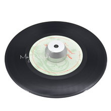 ФОТО 45 RPM Silver Adapter Durable Solid Aluminum Center Adapter for 7 inch Records Vinyl