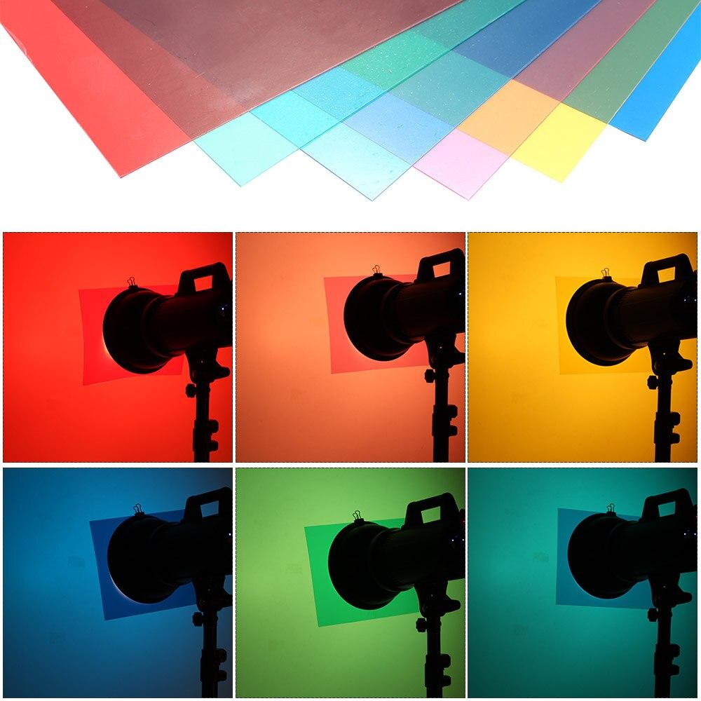 Lighting Color Correction Gel Sheets