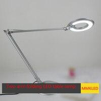 UFO Creative Folding Aluminum LED USB Table Lamp 8W 20LED Eye Students Work Reading Bedroom Bedside