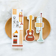 30pcs/box kawaii Good Morning Minor paper bookmark Korean cute bookmarks book holder message card school supplies papelaria